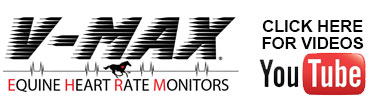 V-MAX Equine Heart Rate Monitors