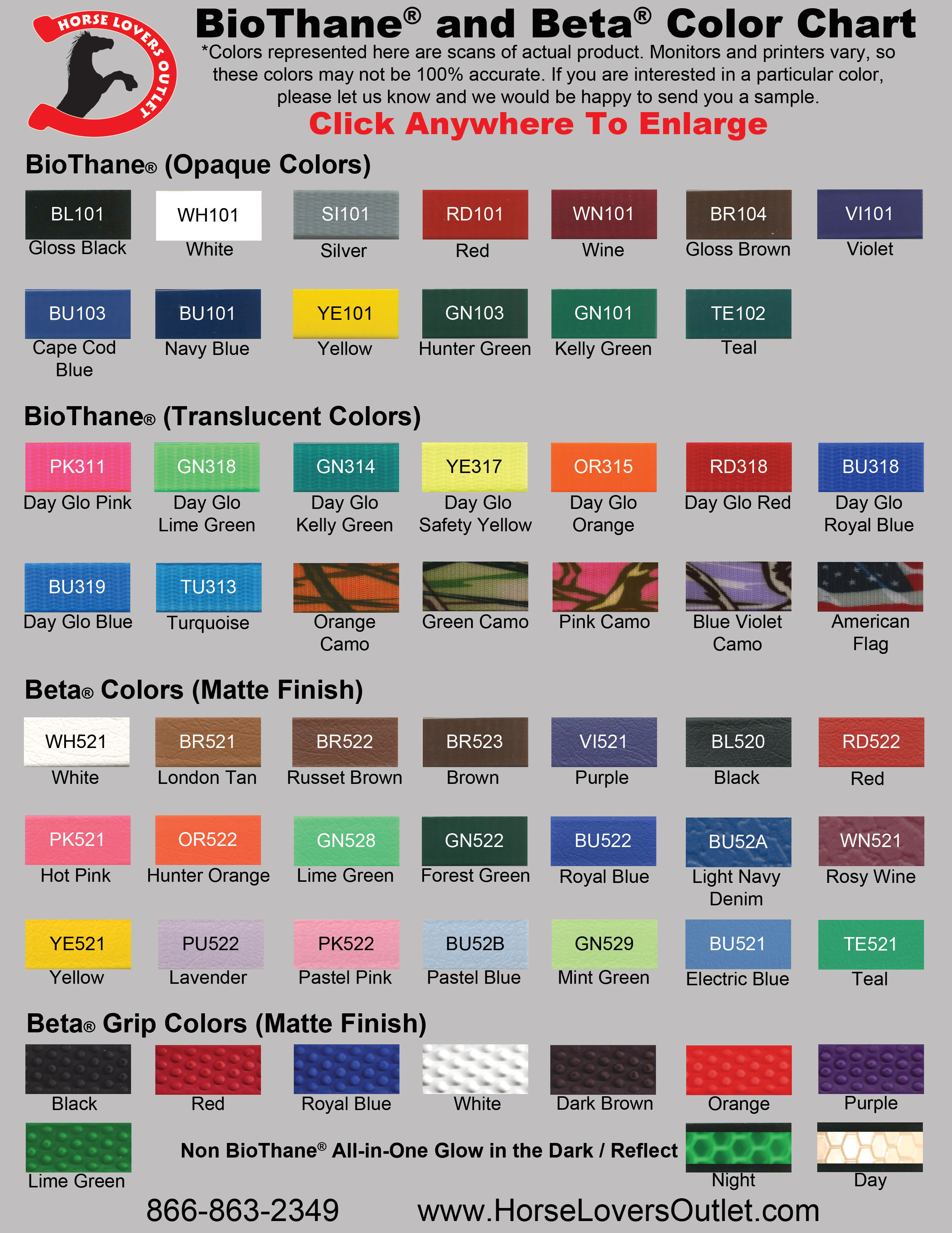 Beta biothane color chart and information please note that our color chart is an actual scan of the colors however every computer monitor shows the colors differently if you are not absolutely nvjuhfo Image collections